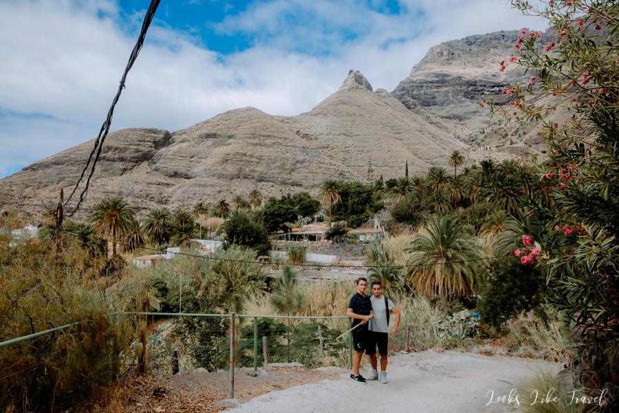 walk in El Risco