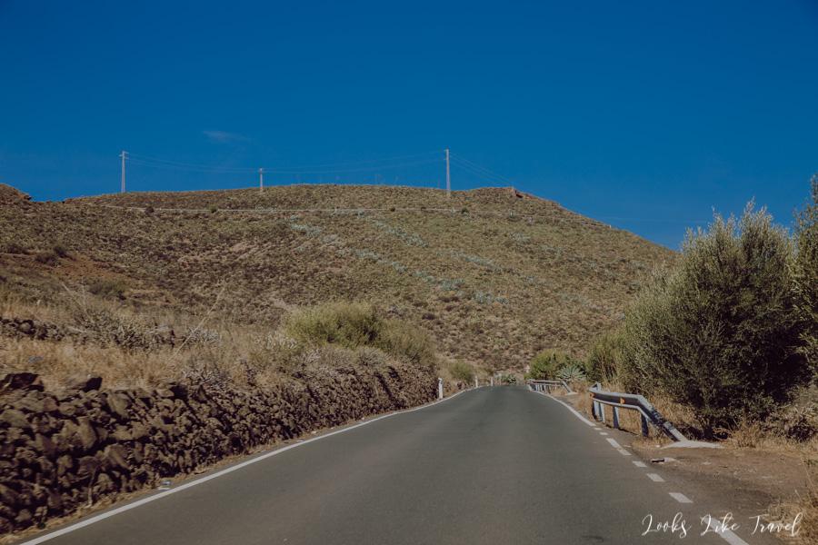 road to Caldera de Los Marteles