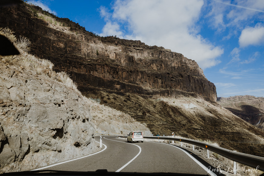 mountain roads in Gran Canaria