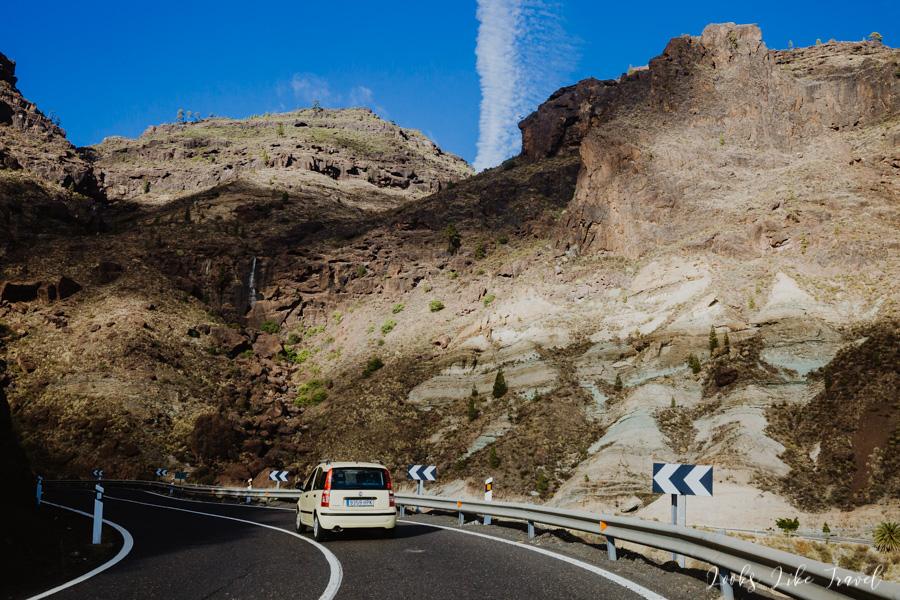 GC-200. Scenic road, Gran Canaria