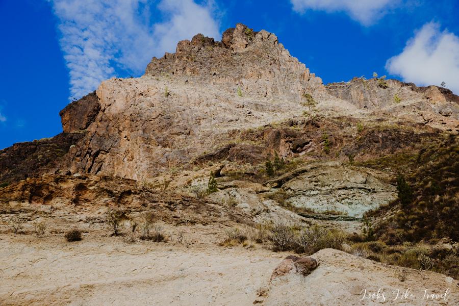 Los Azulejos, rock formations