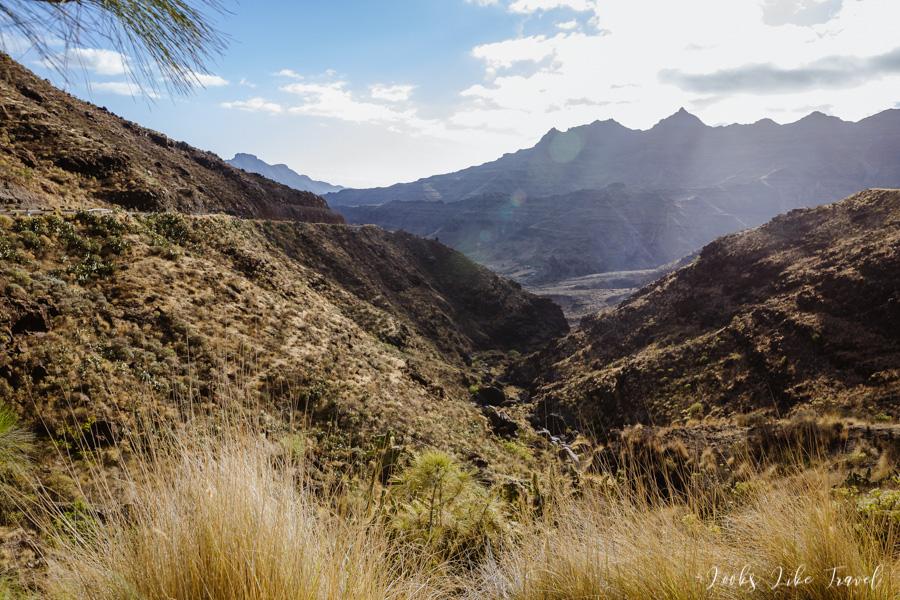 Los Azulejos, landscapes of the valley