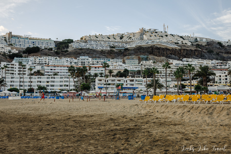 beaches in the south of Gran Canaria