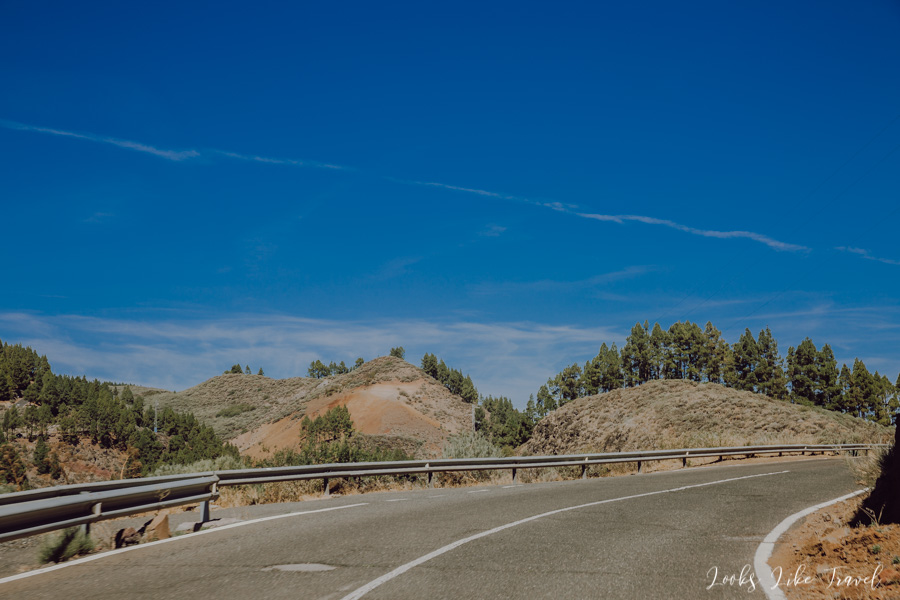 Gran canaria, a road to the mountains