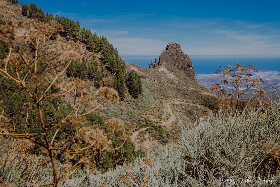 the first viewpoint on Gran Canaria