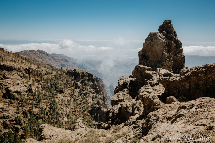 Canarian mountains