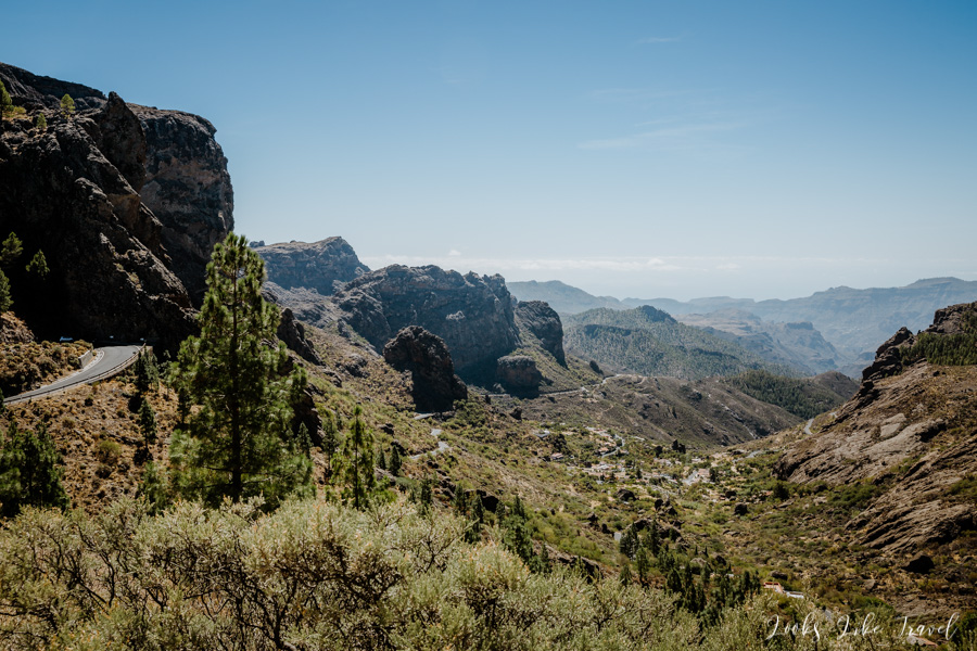 mountains and vales, Gran Canaria