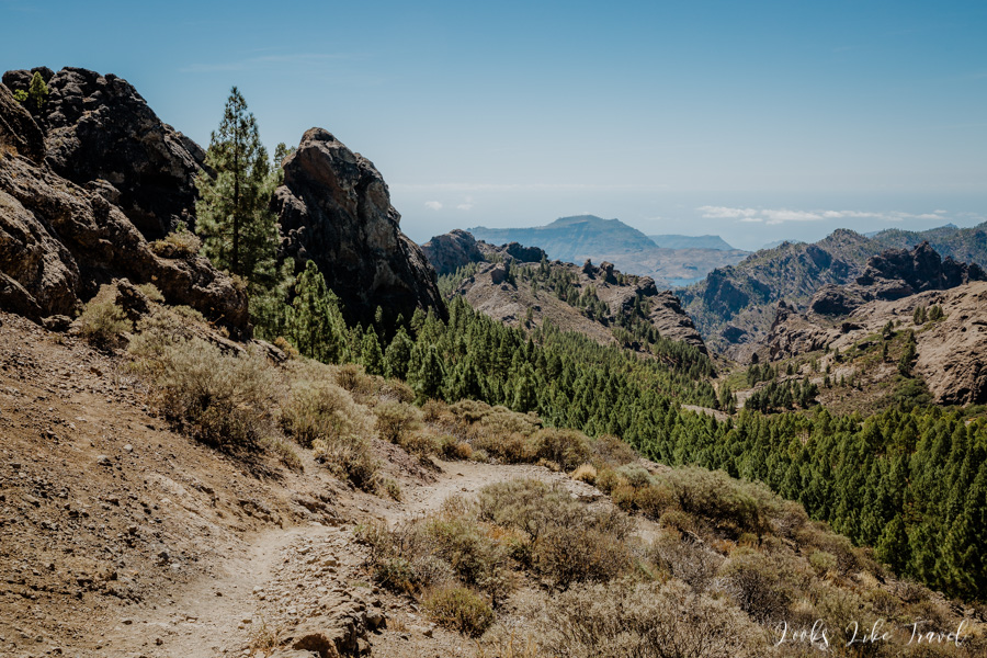 mountain landscapes of the Canary Islands