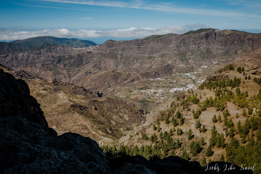 Roque Nublo - great views of the area