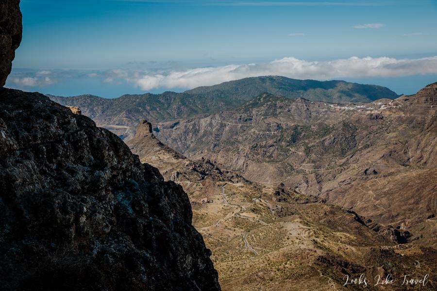 panorama Roque Bentayga