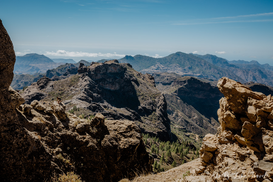 unusual landscapes of the Canary Islands