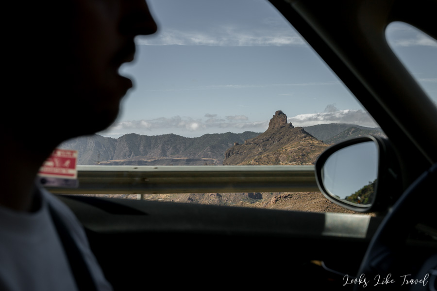 driving a rented car in Gran Canaria