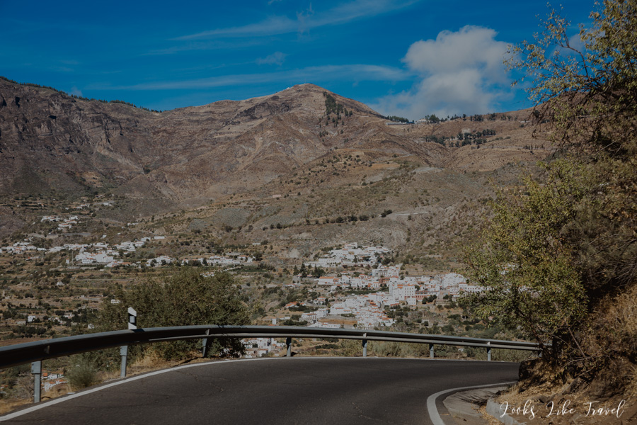white towns of the Canary Islands