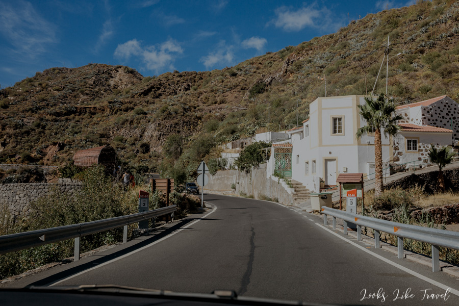 suburbs of Tejeda, Gran Canaria