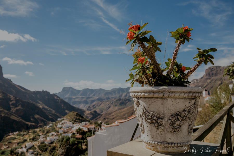special climate of the town in Gran Canaria