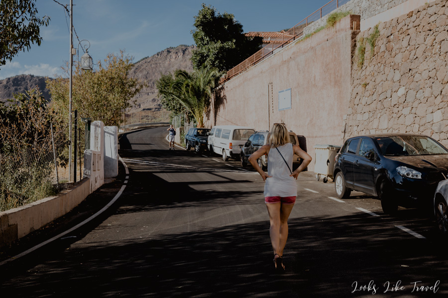 walk on the Canary Islands