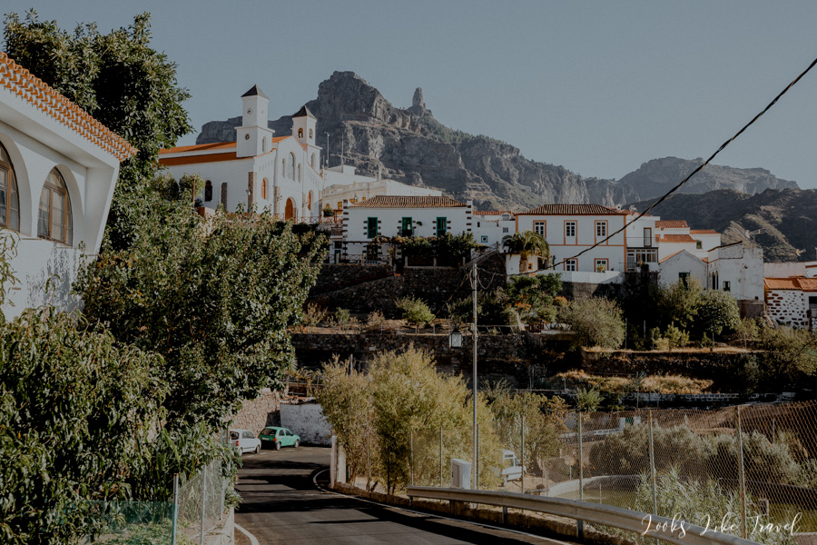 an extraordinary panorama of the city of Tejeda