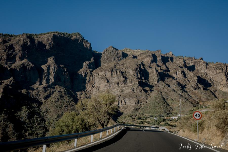 Tejeda route - Cruz de Tejeda