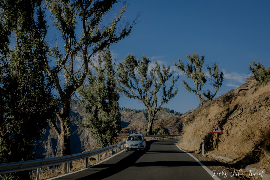 the road to the heart of Gran Canaria