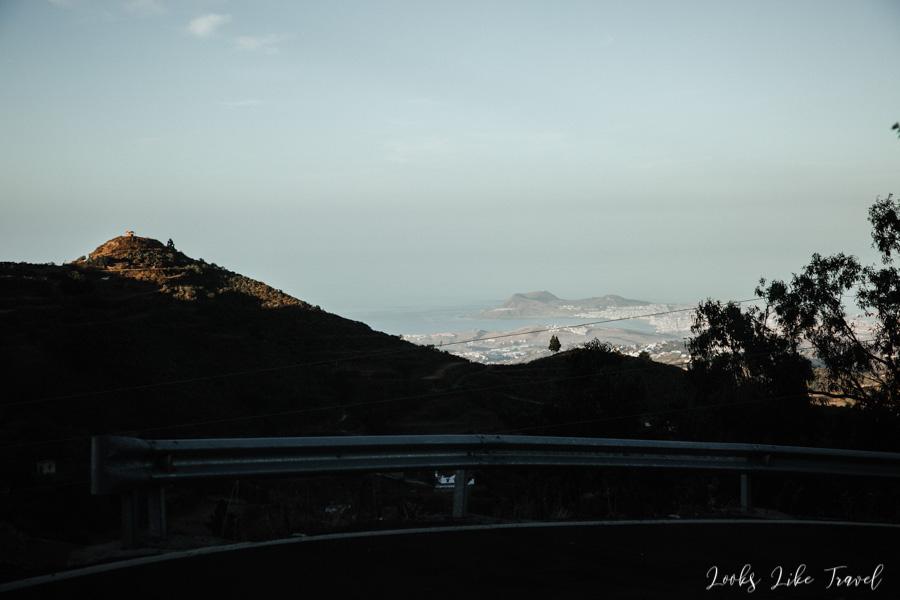 widok na ocean Gran Canaria