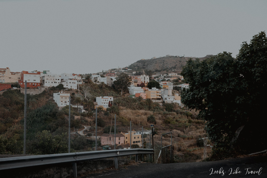 widok na Santa Brigida
