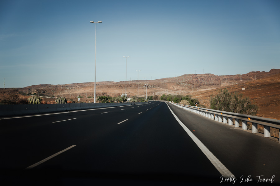 highway on Gran Canaria