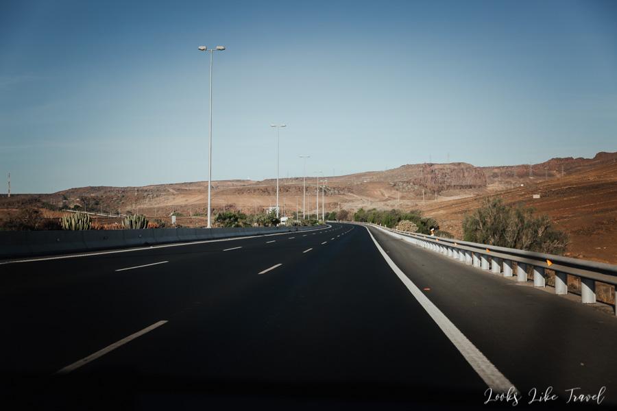 autostrada na Gran Canarii
