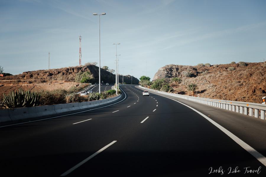 GC-1 Gran Canaria motorway