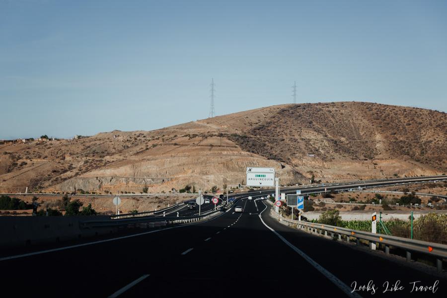 autostrada GC-1 okolice Arguineguin