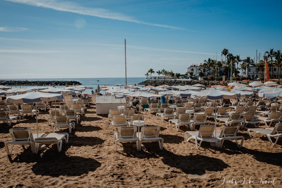 Playa Mogan, Gran Canaria