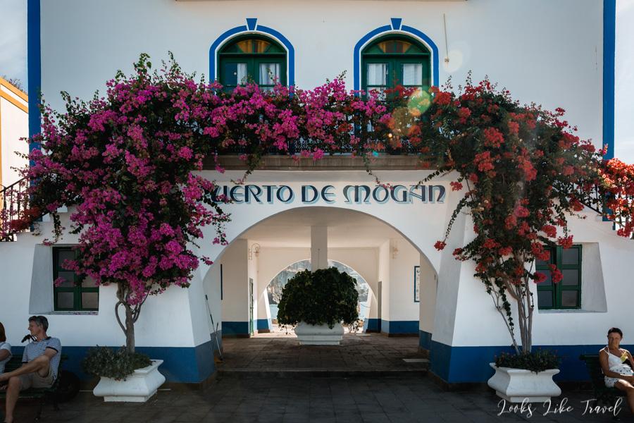 Puerto de Mogan gate