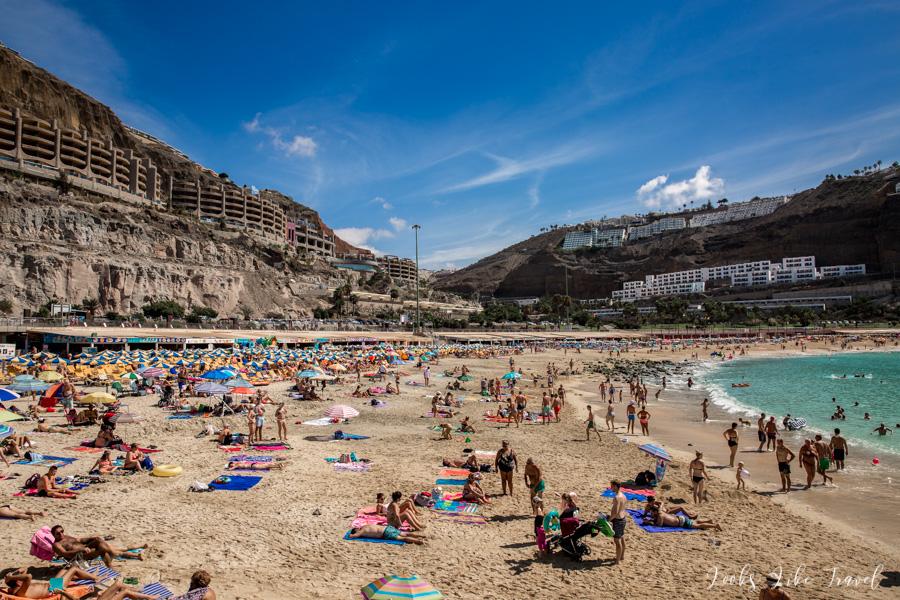 pierwsze spojrzenie na Playa de Amadores