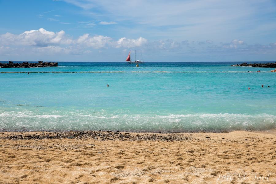Playa de Amadores - ocean view