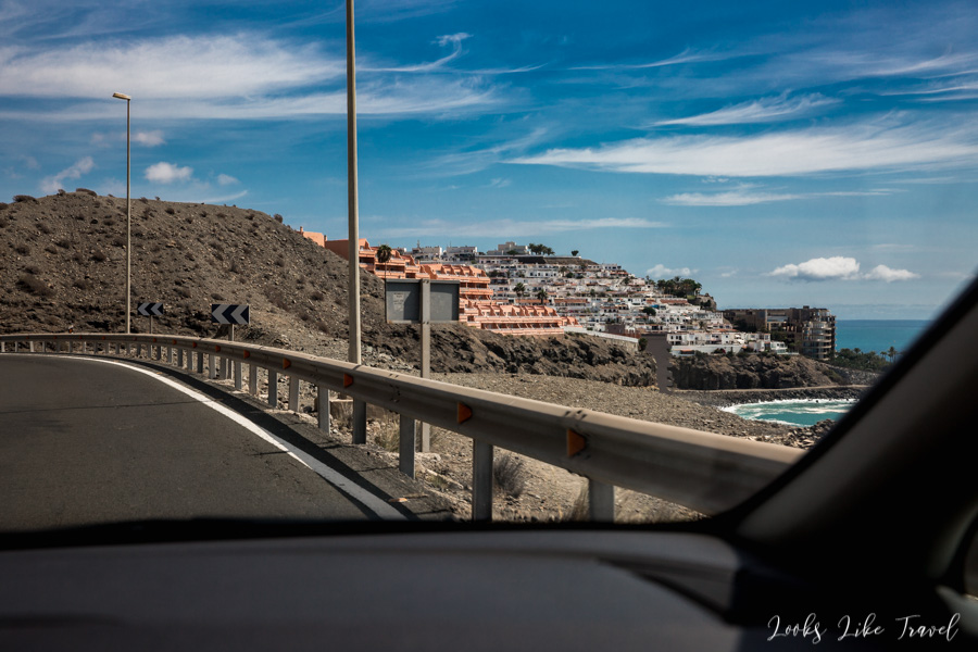 beautiful roads in Gran Canaria