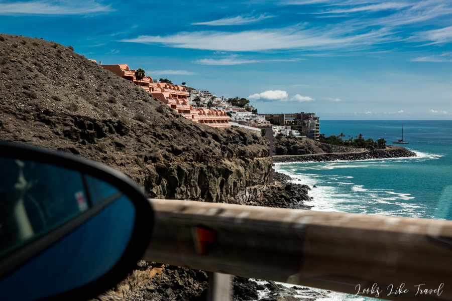 Gran Canaria- view of the south coast