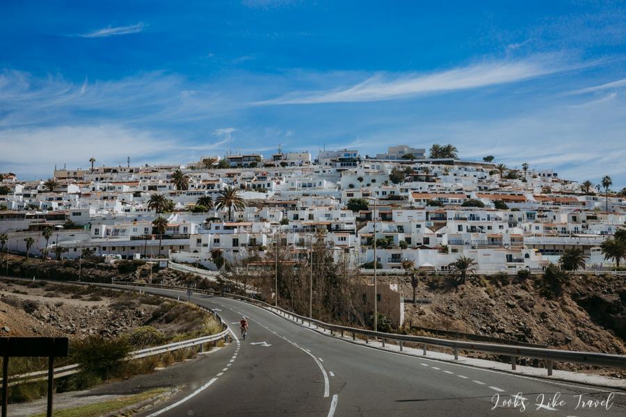 Los Caideros town on Gran Canaria