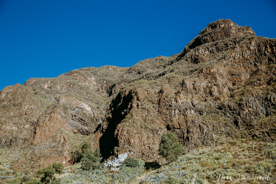Canarian mountains, Gran Canaria