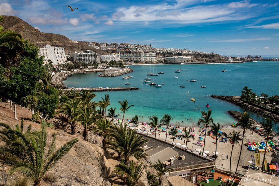 the most beautiful beach of Gran Canaria