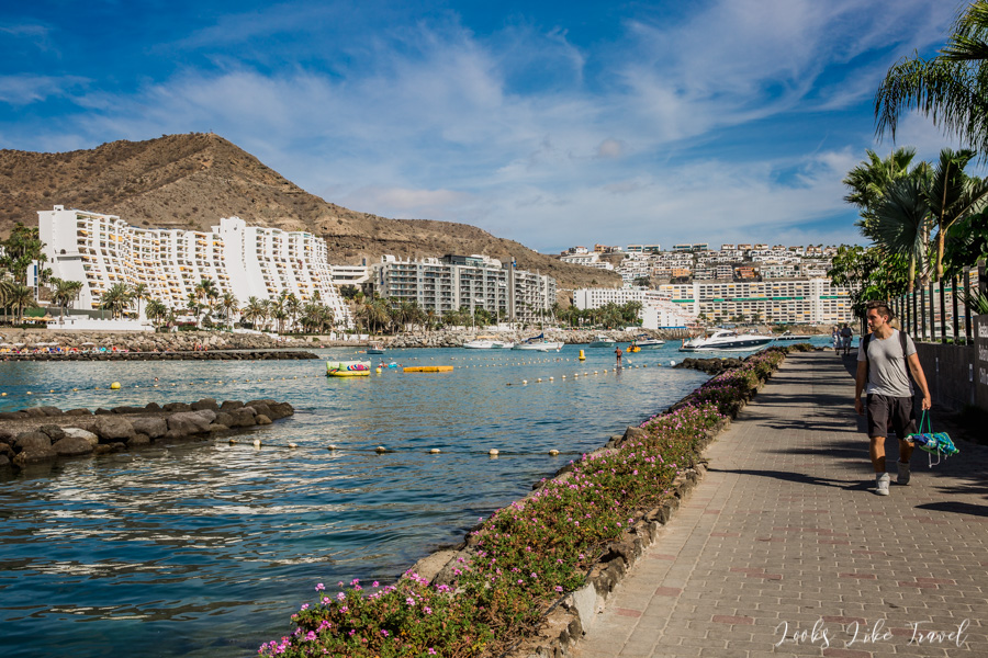 walk around Isla de Anfi, Gran Canaria