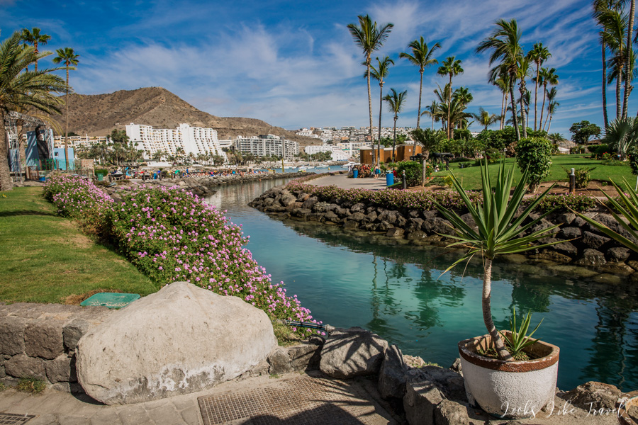 the most beautiful places in the south of Gran Canaria