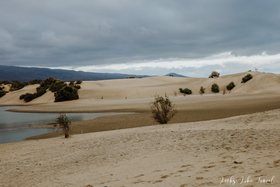 beautiful dunes, Canary Islands