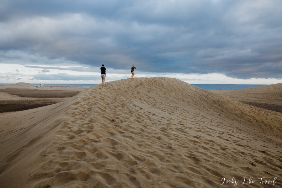 walk around Dumas de Maspalomas