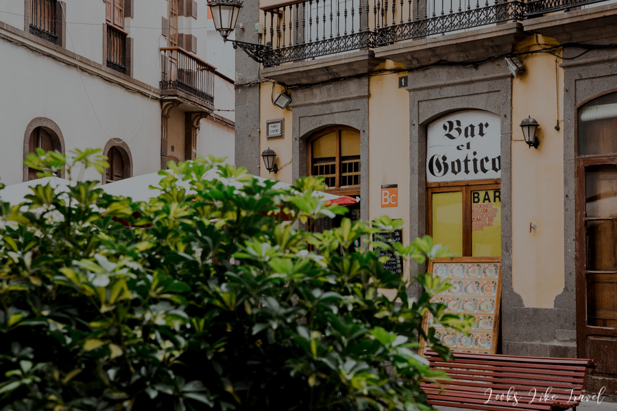 El Gotico bar on Gran Canarii