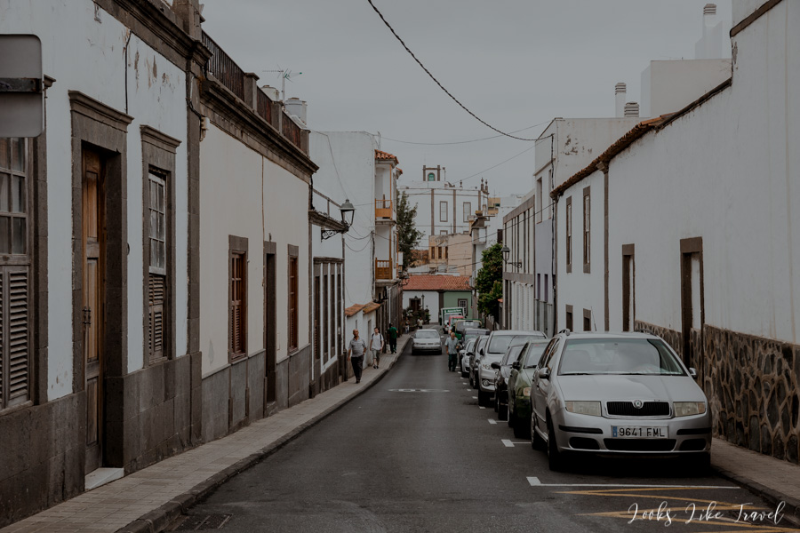 walk through the streets of Arucas