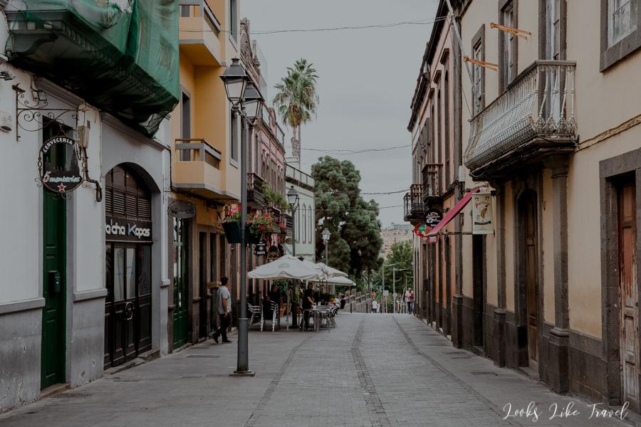 Arucas city center