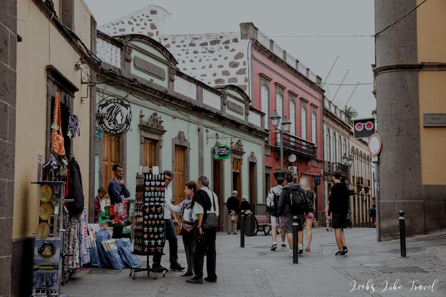Arucas souvenir shops