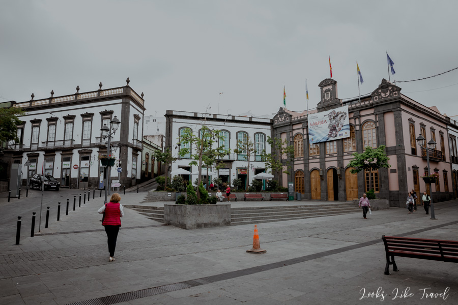 Arucas - the main square of the city