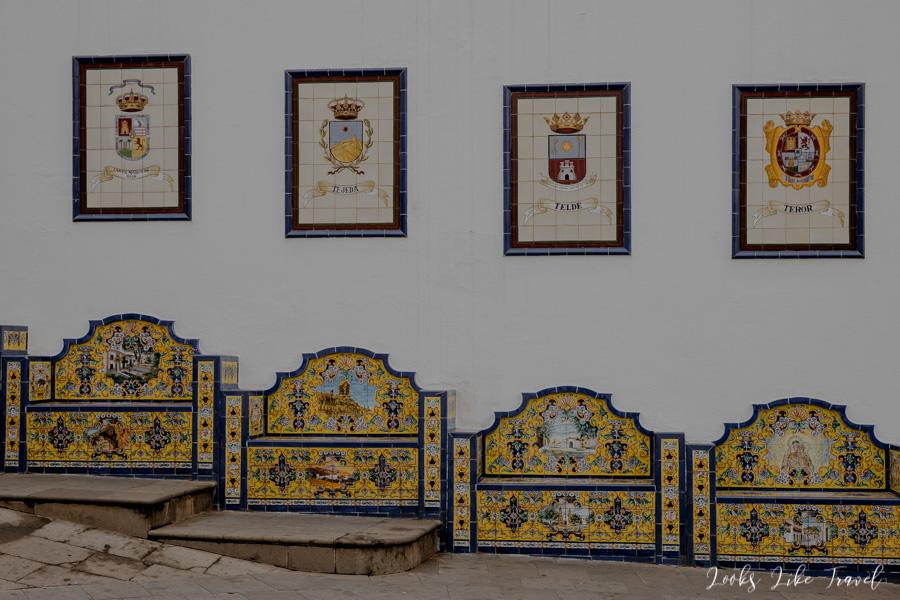 azulejos on Gran Canaria