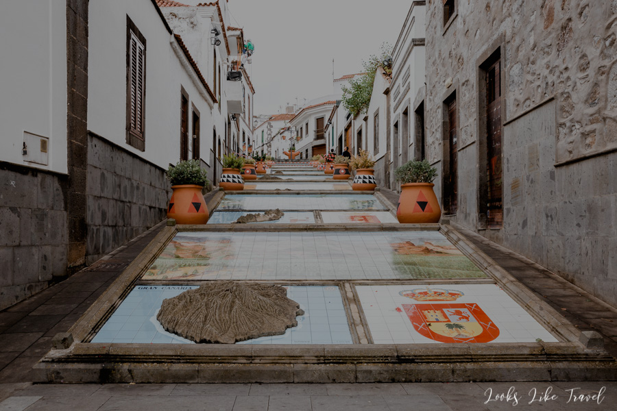 mosaics of the Canary Islands