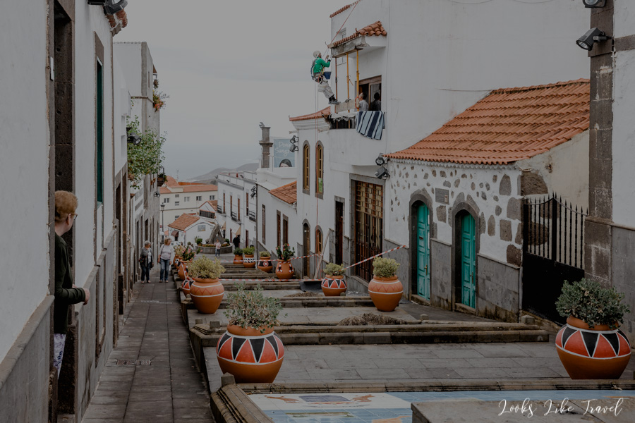 Paseo de Gran Canaria in Firgas